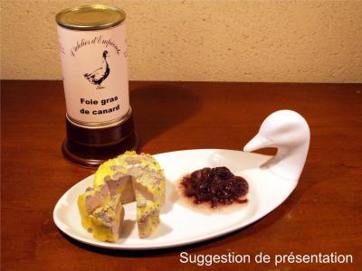 Foie gras de canard 370g