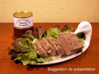 Rillettes pur canard 130 g