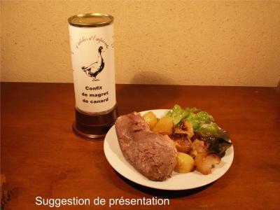 Magret confit de canard