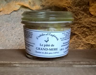 Le pâté de Grand-Mère (verrine 170g)