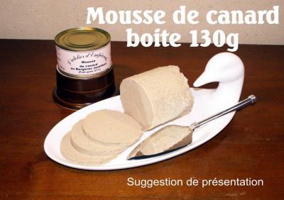 Mousse de foie gras au Bergerac moelleux 120 g