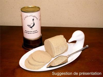Mousse de foie gras au Bergerac moelleux 370 g